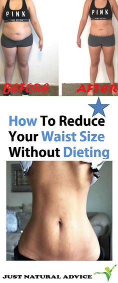 How To Reduce Your Waist Size Without Dieting