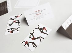 Corporate identity of a physiotherapy office in Lucca.Giorgio Leone Photo