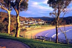 Lorne, Australia. SSW of Melbourne along The Great Ocean Road