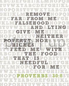 Alphabet Bible verse Proverbs