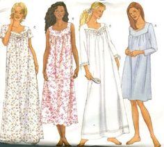 How To Sew Nightgown With Yoke | Stitch Nightie | Nighty For Women