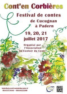 L'affiche 2017 du Festival Cont'en Corbières