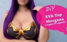 Seja meu Patreon : https://www.patreon.com/sakuraprongs Tutorial completo e comentado de como fazer essa top da Morgana, do lol, em EVA Materiais : EVA Cola ...
