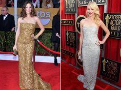 SAG awards. Jennifer Garner vs. Naomi Watts. #fashion #redcarpet http://www.ivillage.com/sag-awards-style/1-b-518075#