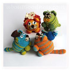 Amigurumi Crochet Cats: DIY Tutorial & Pattern