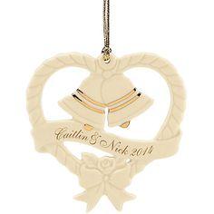 Wedding Bells Ornament by Lenox