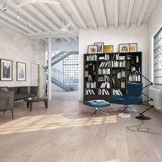 Parkettgulv Cappucino Barlinek - Parkettgulv - Velkommen til Byggmax! Engineered Wood Floors, Hardwood Floors, Wood Flooring, Prefinished Hardwood, Light Colored Wood, Interior Inspiration, Living Spaces, Interior Design, Decoration