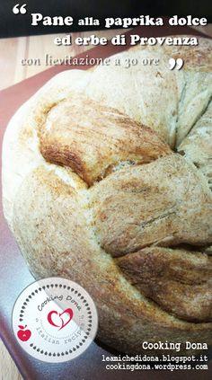 Cooking Dona - Le amiche di Dona: Pane di semola e farina grano alla Paprika dole ed...