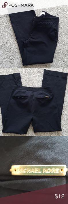Womens Michael Kors pants Black dress pants. Great condition Michael Kors Pants Ankle & Cropped