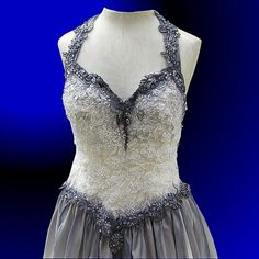 Corpse Bride-style Gown