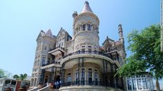 Bishop's Palace in Galveston, Texas, was built from 1887 to 1892 for Santa Fe railroad magnate Walter Gresham. See more photos of the castles
