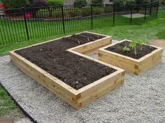 Cedar Timbers Raised Beds. image of raised garden bed designs ...