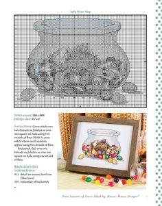Elefante Cross Stitch Kit por ratón Loft