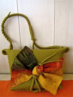 hermoso bolso de otoño