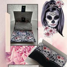 bout'ficelles sur Instagram: #sacotin #Compagnon #complice #skullart #tetedemort #roses #similicuir #creatricebretonne #quessoy #couturepassion❤️