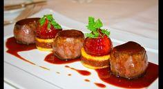 Recette : Noisettes de chevreuil rôties, sauce aux baies de genièvre