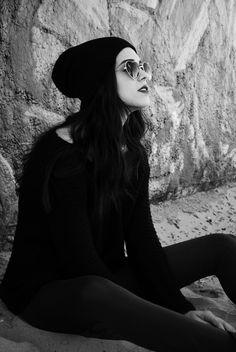 #fashion #hipster #grunge #sunglasses