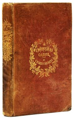 For the love of Books.'A Christmas Carol' by Charles Dickens. first edition, first issue, published by Chapman and Hall on 19 December Christmas Carol Book, Christmas Past, Christmas Books, Christmas Images, Great Books To Read, Good Books, My Books, Authors Point Of View, Writers And Poets