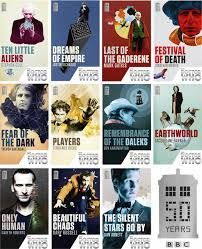 Doctor Who 50th Anniversary Book Series. Totally geeked when I found out about this! Serie Doctor, Doctor Who Merchandise, Mark Gatiss, Bad Wolf, Geek Out, Time Lords, Dr Who, Superwholock, Me Time