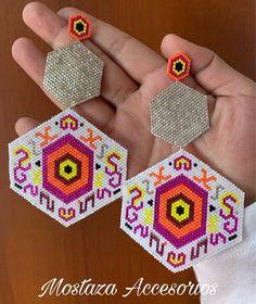 Brick Stitch, Seed Beads, Crochet Earrings, Crafts, Diy, Jewelry, Ideas, Ear Rings, Bracelets