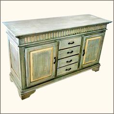 Farmhouse Hand Painted Rustic Distressed by SierraLivingConcepts, $1099.99