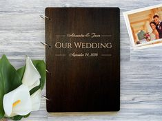 Wedding Gift For Couple In 40s : ... Album, Wooden Photobook, Wedding Gift Photo Album, Gift for Couple