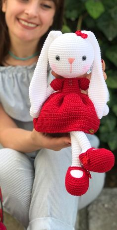 40 Awesome Amigurumi Crochet Pattern Images and Ideas - Page 7 of 40 - Kids Beauty Crochet Design Ideas Easy Knitting Patterns, Crochet Patterns Amigurumi, Amigurumi Doll, Crochet Dolls, Crochet Bunny Pattern, Japanese Crochet, Pattern Images, Diy Crochet, Crochet Ideas