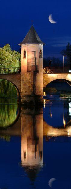 Pont Notre Dame de Bar le Duc, Lorraine, France