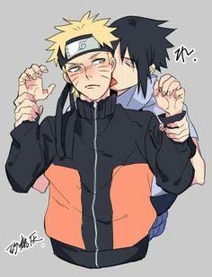 Sasuke and Naruto.that is all - Online Manga Naruto Shippuden Sasuke, Naruto Kakashi, Sasunaru, Anime Naruto, Naruto Comic, Naruto Cute, Narusasu, Boruto, Naruto And Sasuke Fanfiction
