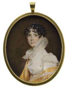 Benjamin Trott (ca. 1770-1843), Rebecca Biddle, Mrs. Nathaniel Chapman, ca. 1815.