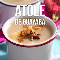 Video de Atole de Guayaba Try this delicious recipe for guava atole, it is perfect for this cold December weather and it can be the perfect option for the holidays this Christmas. Kitchen Gourmet, Kitchen Recipes, Cooking Recipes, Healthy Recipes, Cooking Hacks, Authentic Mexican Recipes, Mexican Food Recipes, Italian Recipes, Mexican Drinks