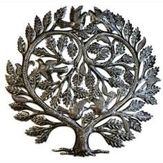 @Overstock - Show your love with this Tree of Life 'Lover's Heart' wall art created from a recycled oil drum. This wall art is created from hammering the oil drum into this unique and beautiful shape.  http://www.overstock.com/Worldstock-Fair-Trade/Recycled-Steel-Tree-of-Life-Lovers-Heart-Wall-Art-Haiti/6385018/product.html?CID=214117 EUR              89.92
