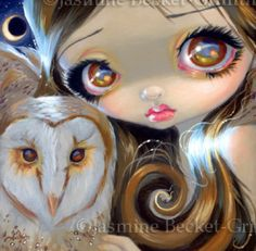 Faces of Faery #176 | Art by Jasmine Becket-Griffith