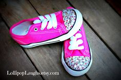 Blingy Toes Pink Toddler Girl Shoes