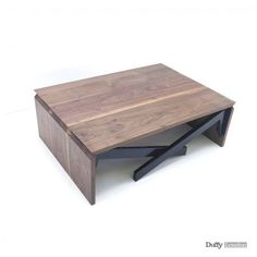 Sometimes the simplest designs are the most brilliant, especially when they offer multiple functions. The MK1 Transforming Table by Duffy London compacts into a minimalist yet visually interesting coffee table, but fold out the legs and it becomes a dining table within seconds. A single person c ...