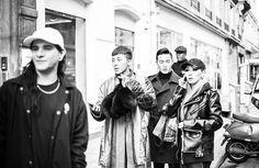 """Photographer, Ra's IG Update of G-Dragon, CL & Skrillex.  Cr : YGinstagram via Jojoblack77"""