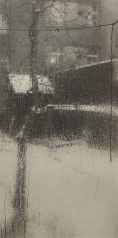 Josef Sudek, from the Window of My Atelier series, 1940-1945