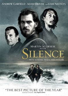 Liam Neeson, Andrew Garfield, and Adam Driver in Silence Films Netflix, Films Hd, Good Movies On Netflix, Films Cinema, Good Movies To Watch, Hd Movies, Movies Online, Movies Free, Martin Scorsese