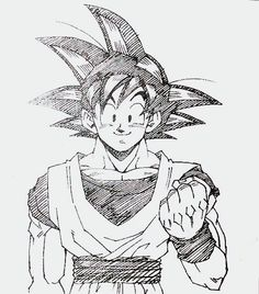 Goku by Toyotaro. Pinned from: #SonGokuKakarot