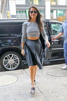 Selena Gomez à New York le 19 août 2015