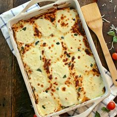 White Chicken Caprese Lasagna on MyRecipeMagic.com