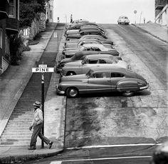 Nob Hill & Pine Street, San Francisco