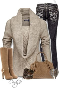 """Fall Look"" by cindycook10 on Polyvore"