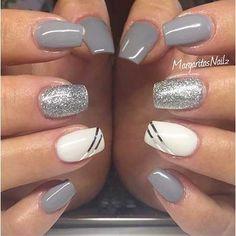 Grey Nail Designs