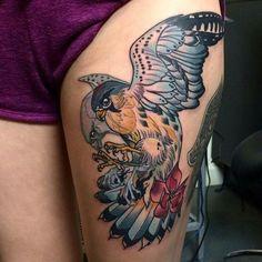 Kat Adby neo traditional tattoo