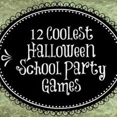 Here are 12 fun Halloween games to play with your students. 🙂 Here are 12 fun Halloween games to play with your students. Fun Halloween Games, Classroom Halloween Party, Holidays Halloween, Halloween Parties, Halloween Ideas, Halloween Dance, Halloween Crafts, Classroom Party Ideas, Kindergarten Halloween Party