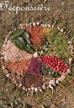 Et si on apprenait...à la maison?!: Land Art et Mandala