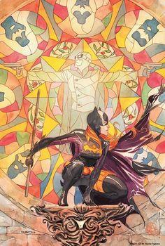 Batgirl #21 by Dustin Nguyen