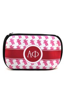 Alpha Phi Cosmetic Bag www.southboundsisters.com
