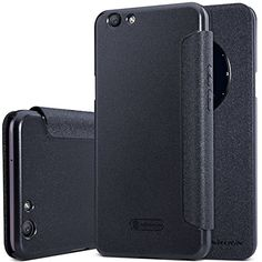 OPPO F1S (A59) Case,OPPO F1S (A59) Leather Case,Opdenk (TM) NILLKIN Sparkle Window View Smart Sleep Wake Up Case PU Leather Flip Cover Case for OPPO F1S (A59) -- Awesome products selected by Anna Churchill